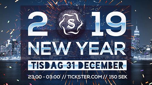 Bild för NYÅRSAFTON 2019/2020 PÅ SENSE STOCKHOLM, 2019-12-31, SENSE Stockholm
