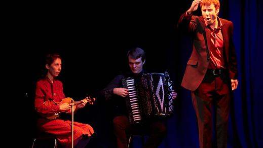 Bild för Gästspel på Tonsalen - The Big Blind, 2019-04-05, Teater Sláva, Tonsalen