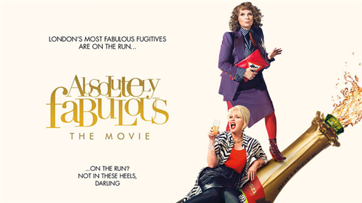 Bild för Absolutely Fabulous Sal2 Kl.19:00 1h31min, 2016-09-02, Saga Salong 2
