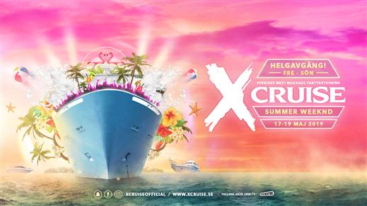 Bild för X-CRUISE - SUMMER WEEKND - 17-19 MAJ, 2019-05-17, Värtahamnen