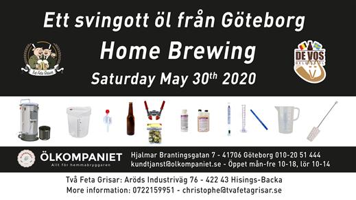 Bild för Home Brewing Course 30 may, 2020-05-30, Två Feta Grisar Bryggeri