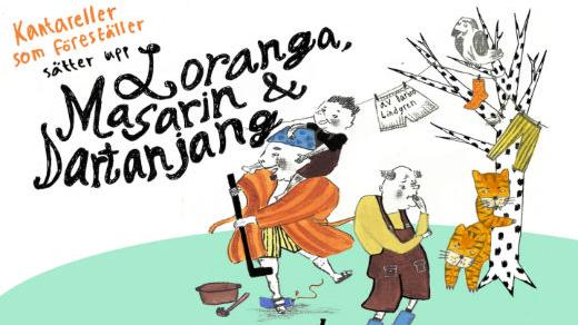 Bild för Loranga Masarin och Dartanjang, 2017-10-15, Jönköpings Teater