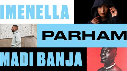 Bild för Imenella, Parham & Madi Banja, 2019-12-07, Arbis