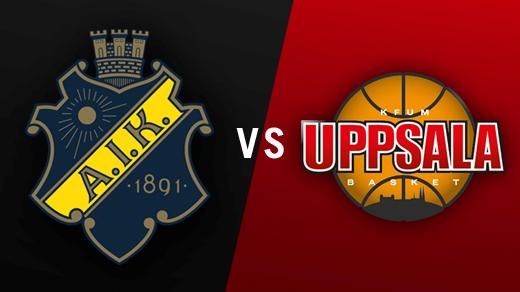 Bild för AIK - Uppsala Basket, 2016-11-12, Solnahallen