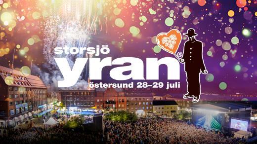 Bild för Storsjöyran 2017, 2017-07-28, Storsjöyran