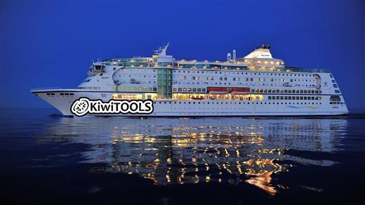 Bild för KiwiTOOLS Konferenskryssning, 2018-10-13, Birka Cruises-terminalen