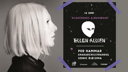 Bild för ELLEN ALLIEN |  Alientronic Album Tour, 2019-06-28, Brewhouse
