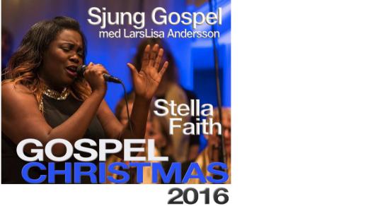 Bild för Gospel Christmas 2016 Sjung Gospel 17:00, 2016-12-04, Allianskyrkan