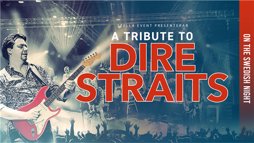 Bild för A Tribute to Dire Straits, 2018-04-20, Idun, Umeå Folkets Hus