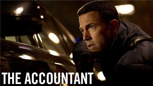 Bild för The Accountant (Sal.2 15år Kl.20:30 2h08min), 2016-11-10, Saga Salong 2