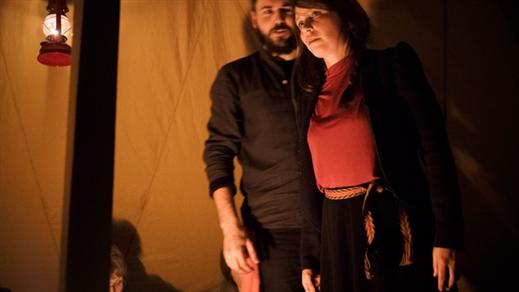Bild för Being Salmon, Being Human – the Performance, 2020-02-14, Bryggarbacken Skellefteå
