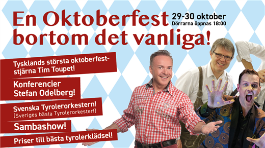 Bild för 30/10 En oktoberfest bortom det vanliga!, 2021-10-30, Åhaga