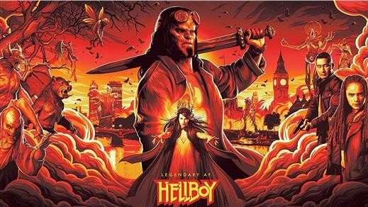 Bild för Hellboy, 2019-05-03, Essegården