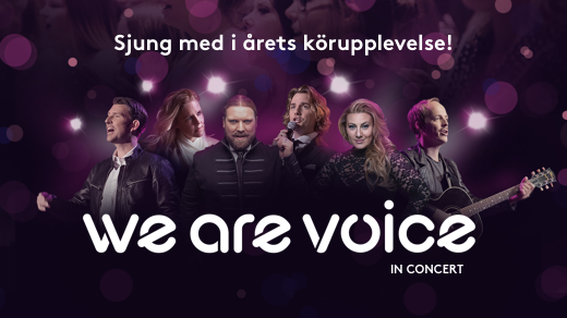 Bild för We Are Voice in concert, 2019-03-30, Filadelfiakyrkan