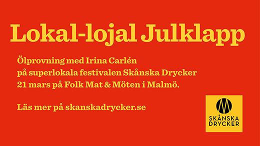 Bild för Ölprovning Lokal-lojal Julklapp, 2020-03-21,  Folk Mat & Möten Skånska Drycker