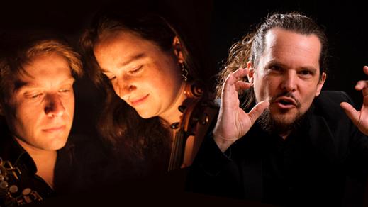 Bild för 181117 Daniel & Emma Reid med Mikael Öberg - kväll, 2018-11-17, Stallet - Världens Musik