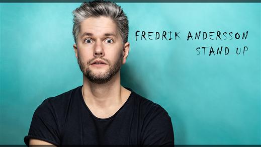 Bild för Fredrik Andersson | Stand Up, 2021-11-16, Charles Dickens Pub & Restaurang