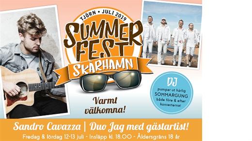 Bild för Summerfestskärhamn, 2019-07-12, Södra Hamnen Skärhamn
