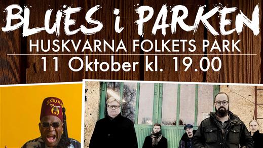Bild för BLUES I PARKEN, 2018-10-11, Huskvarna Folkets Park