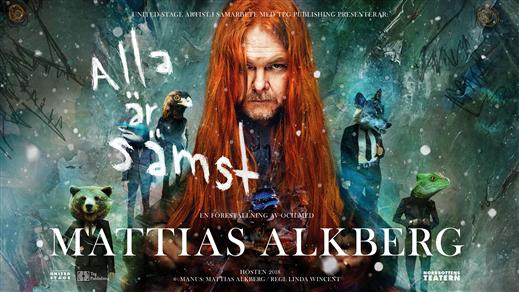 Bild för Mattias Alkberg - Alla är sämst, 2018-11-09, Babel