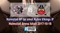 Halmstad HF vs. Nybro Vikings IF