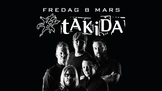 Bild för Takida live / Fredag 8 Mars, 2019-03-08, Puls Nattklubb