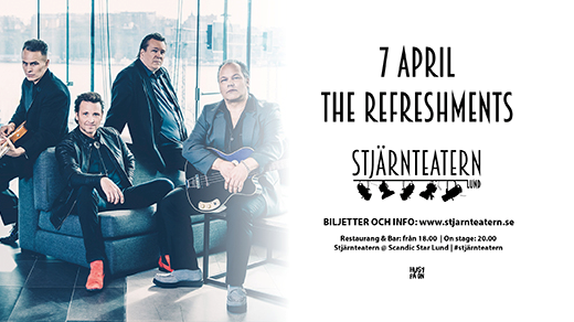 Bild för The Refreshments, 2018-04-07, Stjärnteatern