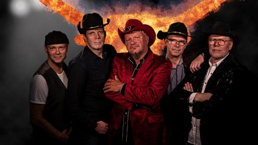 """Bild för Austin Band """" Eagles Show"""", 2019-10-25, Gällivare Folkets Hus"""