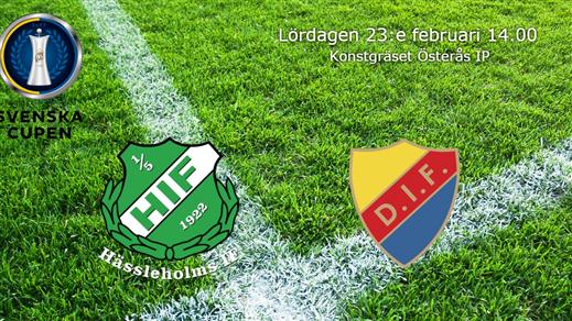 Bild för Hässleholms IF - Djurgården BORTASUPPORTERS, 2019-02-23, Österås IP