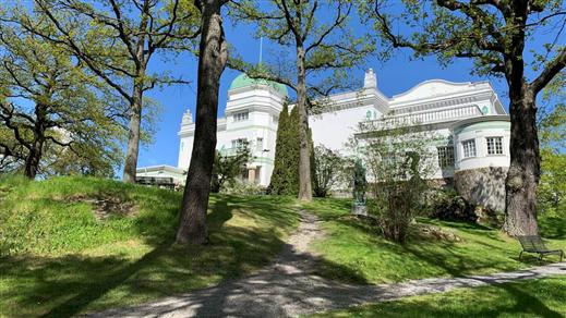Bild för Arkitekturvisning. Thielska Galleriet, 2021-08-28, Thielska Galleriet