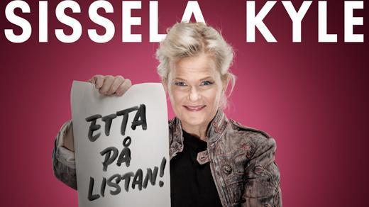 Bild för SISSELA KYLE - Etta på listan! | 17:00, 2020-02-07, Jönköpings Teater