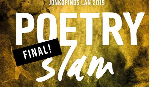 Bild för Säsongsfinal Poetry Slam Jönköpings län, 2019-03-22, Jönköpings Teater