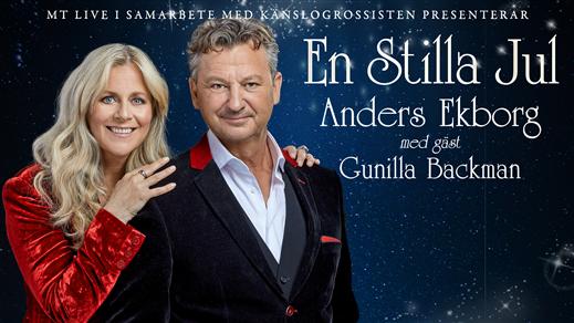 Bild för EN STILLA JUL med ANDERS EKBORG, 2021-12-19, Kristianstad Teater